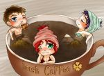 Coffee Time for Aslinn, Abygail and Melwyn by Aka-chan57