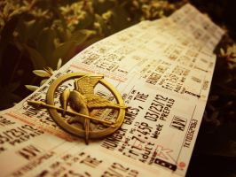 Hunger Games Tickets by 0Banana0