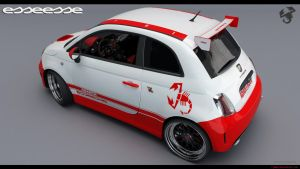 Fiat 500 Abarth esseesse 3 by RJamp