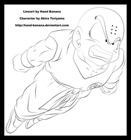 Krillin's counter attack by Hand-Banana