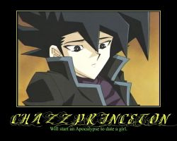 Chazz Princeton Demotivator by Shadow-DJ