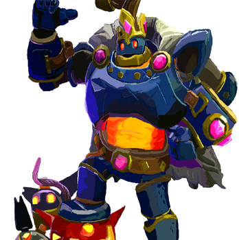 Bomb King(paladins) by kingfret