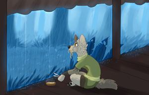 Rainy day by quardiian