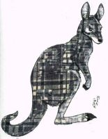 plaidwallaby by twapa