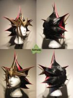 Wig Commission - Yami Yugi by kyos-girl