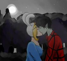 Fionna And Marshall Lee by lord-rav3n