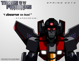 TF:Ignition Promo - STARSCREAM by KrisSmithDW