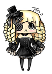 Full Chibi 5 - Gaia Avi Art by Japhia