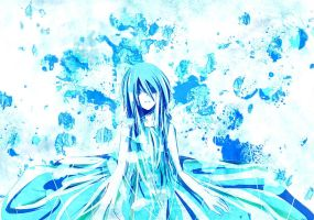 I don't understand the meaning of that blue by Ruuya