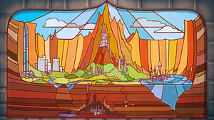Stained Glass Castles by theonlyupriser