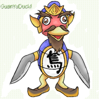 GuanYuDuck by MintyDreams7
