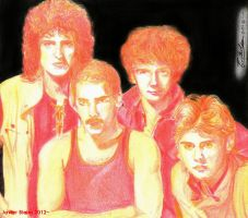 Queen - Color portrait by janston