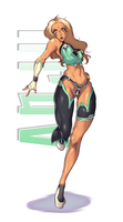Anju - Character File (93,75%) by TirNaNogIndustries
