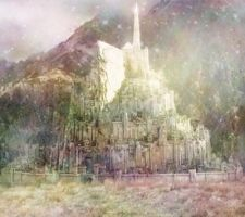Minas Tirith Colour Thing by TomaccoClock
