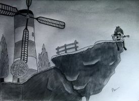 Windmill,Windmill for the land by rammstein08