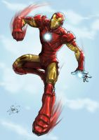 Iron Man by kamillyonsiya