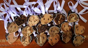 Guinea Pig Wedding Favours by BumbleBeeFairy