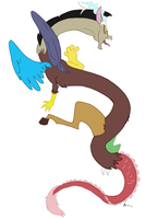 Angry Discord by JabberwockyChamber17