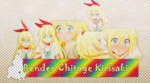 Pack Render Chitoge Happy New Year by Katori-Designer