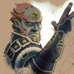 The Legend of Zelda: Ganondorf WIP by jaimito