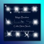 Magic Brushes Set 3 by CelticStrm-Stock by CelticStrm-Stock