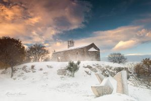 Pican In Snow by r-maric