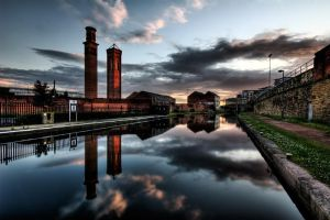 Leeds  The Industrial Past by faceonimages