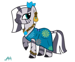 Zecora Gala Dress by AnneHairball
