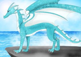 dragon of the sea by coolrat