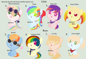 Big Mac X Rainbow Dash Shipping Adopts :OPEN: by HopeForTheFuture13