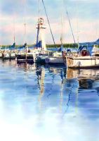 harbour by claw0208