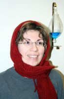 Commission Hooded Scarf by ArielManx