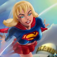 Supergirl by SuperSaiyan3Scooby