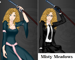 Black Butler OC Misty Meadows by Lady1Venus