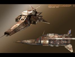 SpaceShip 2 by GeneralPeer