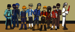 TF2 oc group pic by pklcha