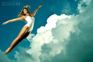 Dancer in the Sky n.1 by Carnisch