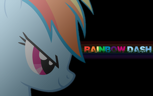 Rainbow Dash Wallpaper by hopeabandoner