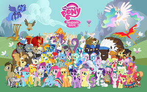 16:10 Comic Con Pony Wallpaper by PonyComicConPoster