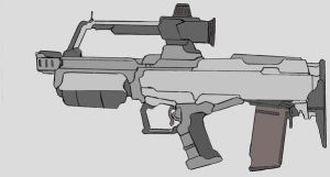 AKR-01 Carbine by marines203
