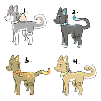 Free Adopts Cat Batch-WATCHERS ONLY! by starlightzs