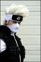 B/W Kakashi by Suki-Cosplay