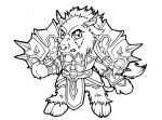 Mees Thunderhoof - Chibi by jehzavere