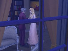 Sims 2 : Friends Meeting by theBloodRaven