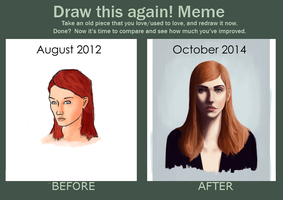 Improvement meme 2012-2014 by CChhim