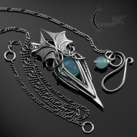 MYTHNRIALL - Silver and Chalcedony by LUNARIEEN