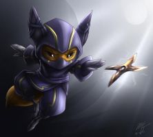 Fox Kennen by VegaColors