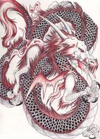 Chinese-style-Dragon by Tiny-Pie