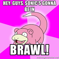 Slowpoke and Smash Bros. by Hero-T