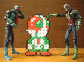 masked_rider_small by danny-8bit
